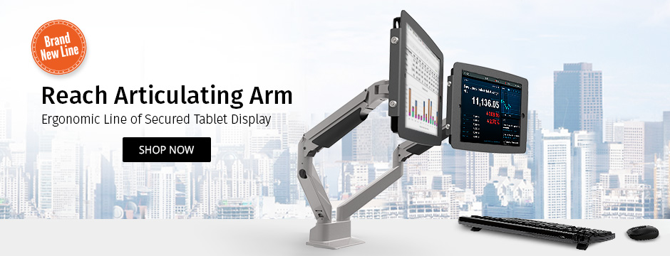 Galaxy Articulating Arm Kiosk